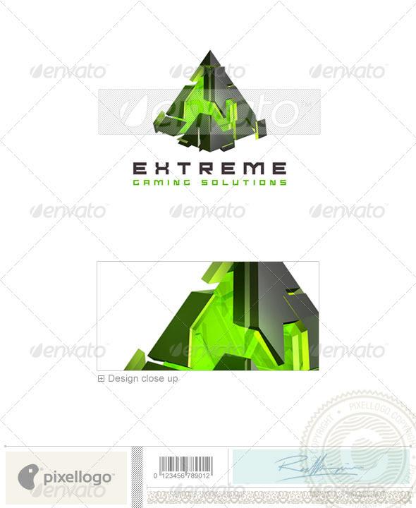 Technology Logo - 3D-260