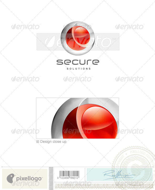 Technology Logo 3D-180