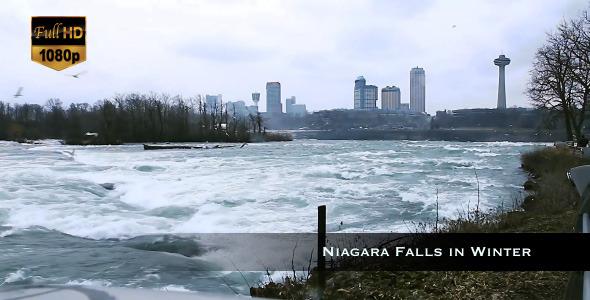 Niagara Falls in Winter 2