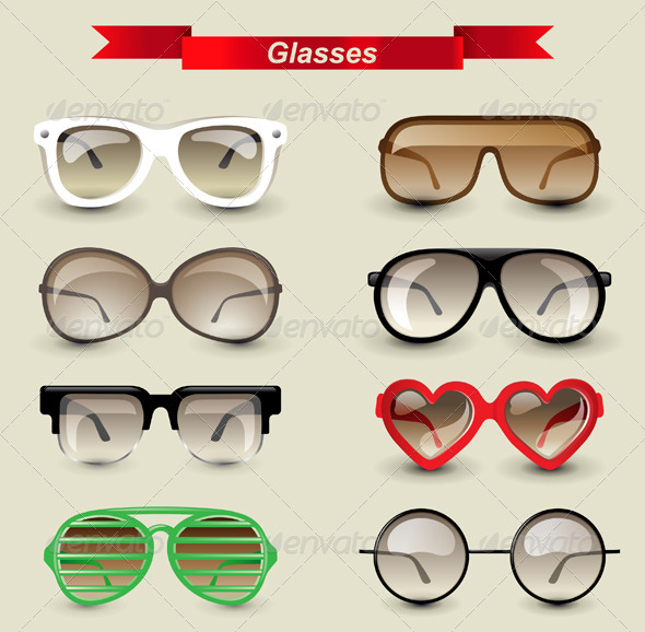 GraphicRiver Glasses 4764319