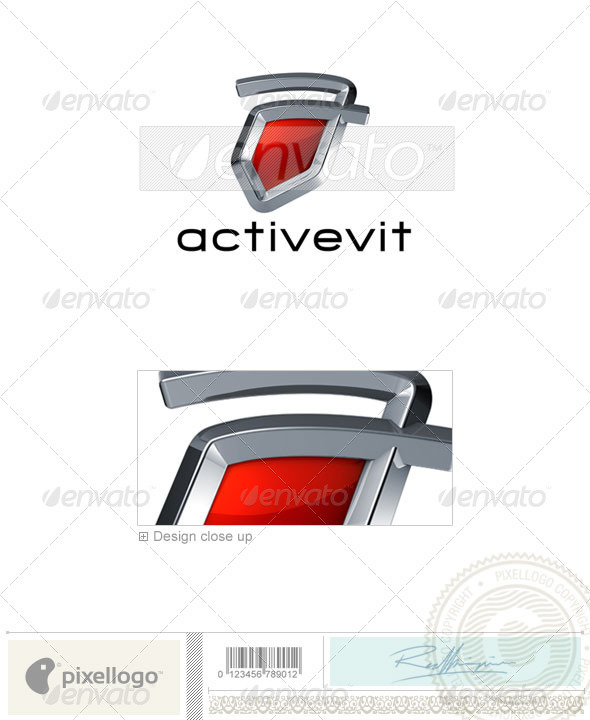 Technology Logo - 3D-675