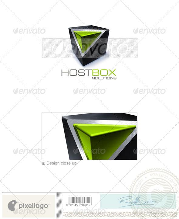GraphicRiver Technology Logo 3D-231 497176