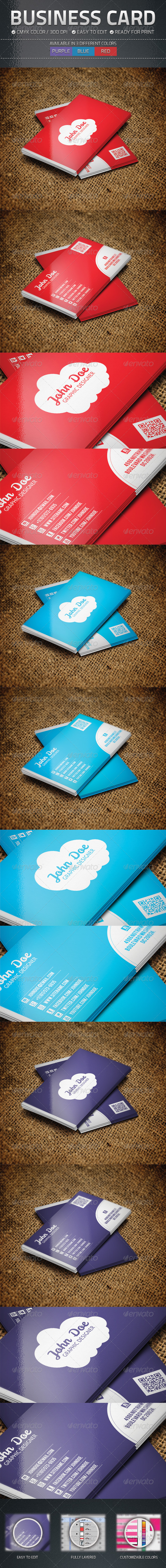 GraphicRiver Business Card 4764333
