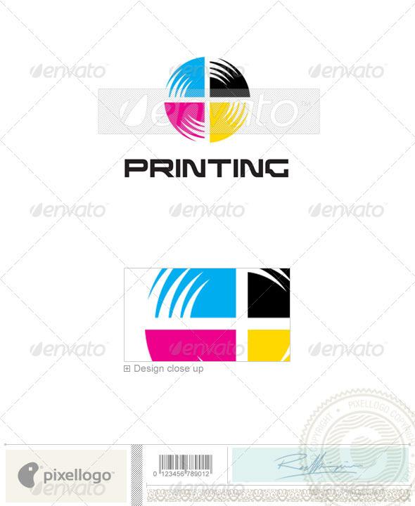 Print & Design Logo 236