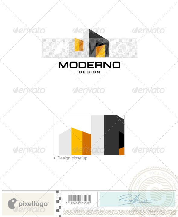 Home & Office Logo - 1390 - Vector Abstract