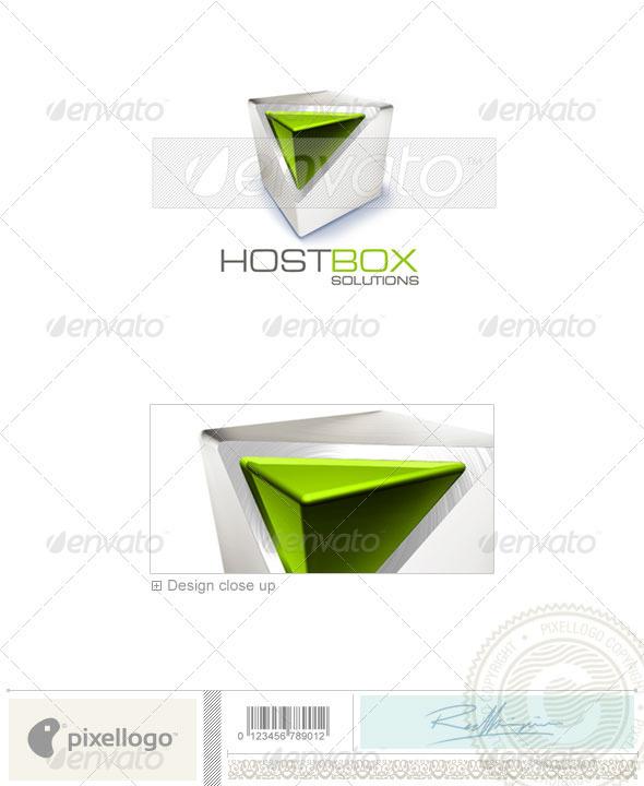 Technology Logo - 3D-226
