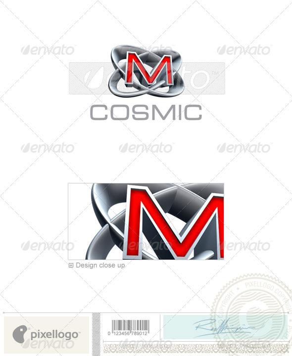 M Logo 3D-348-M