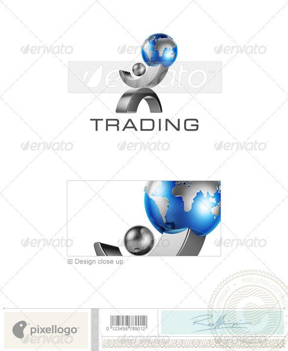 Business & Finance Logo 3D-406