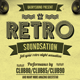 Retro Soundsation Flyer Vol. 2 - GraphicRiver Item for Sale