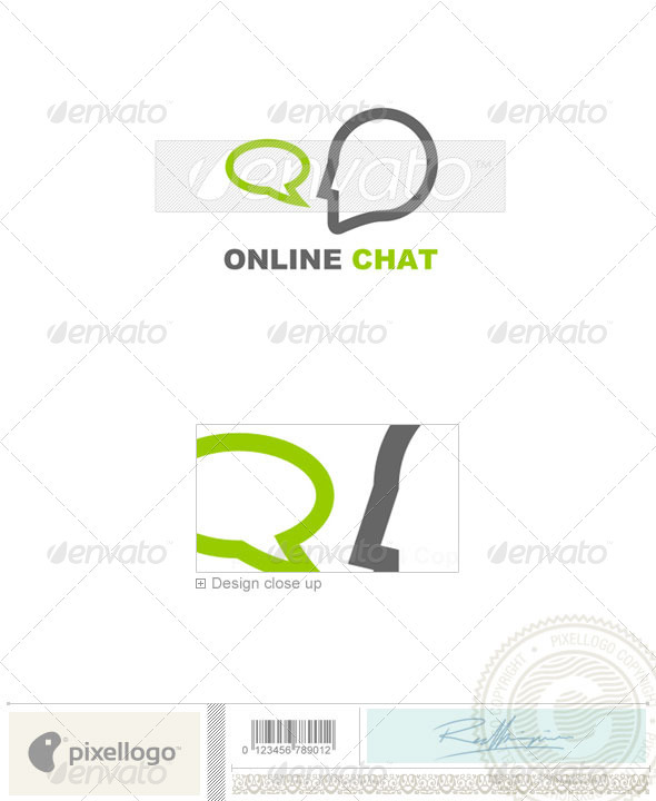 Communications Logo - 6 - Humans Logo Templates