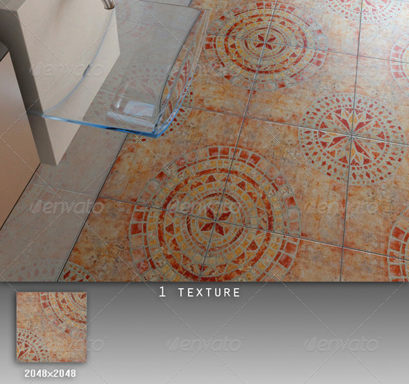 Professional Ceramic Tile Collection C048 - 3DOcean Item for Sale