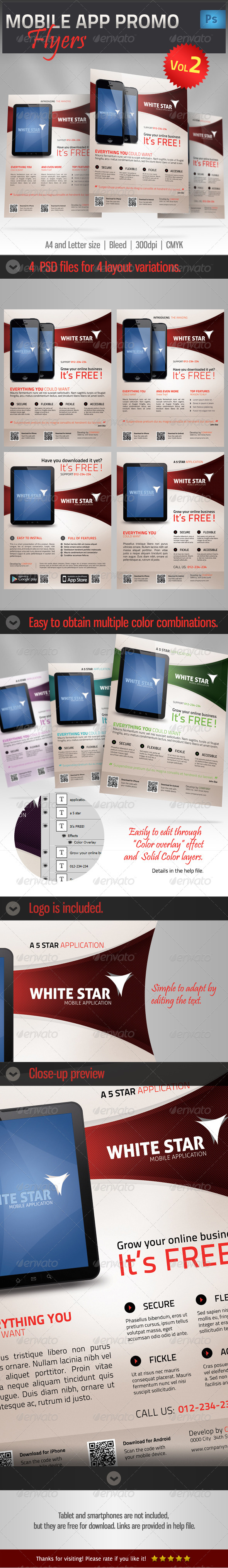GraphicRiver Mobile App Promotion Flyer vol2 4699535