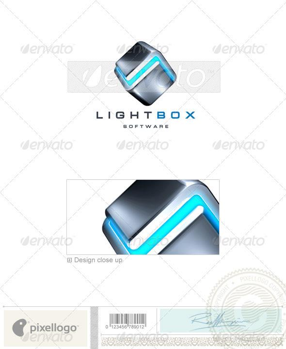 Technology Logo - 3D-68