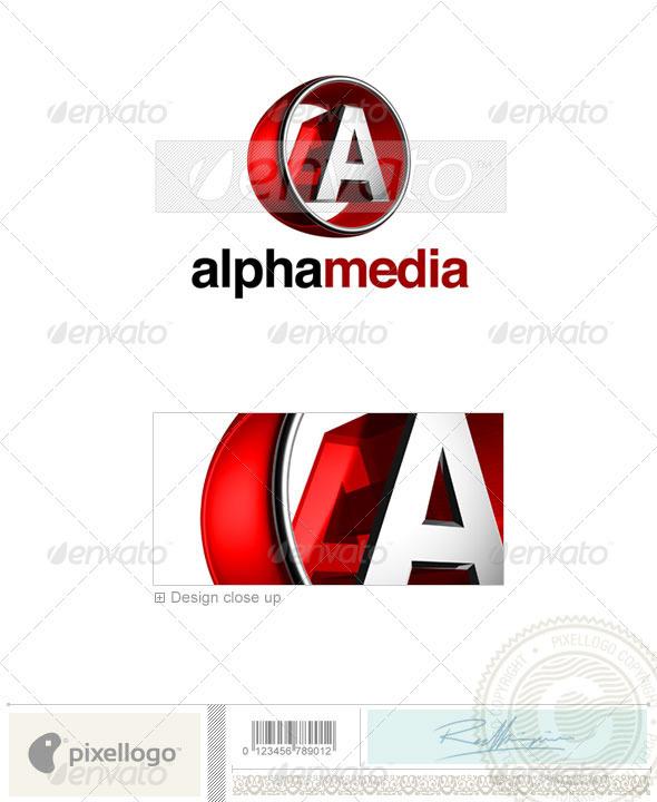 A Logo 3D-438-A
