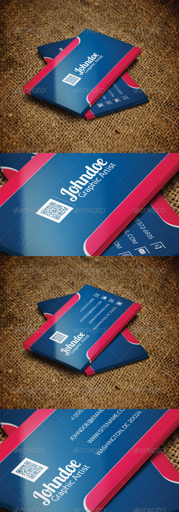 GraphicRiver Simple Business Card 4765098