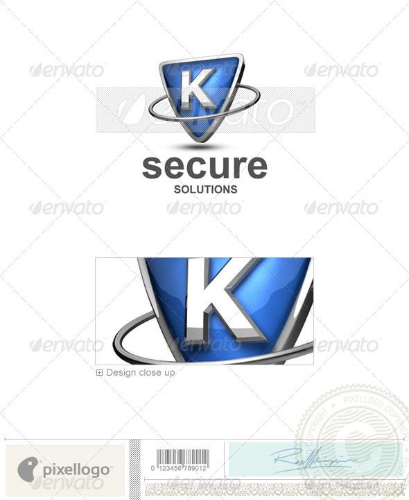 K Logo 3D-285-K