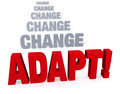 Focus On Adapating In The Face Of Change - PhotoDune Item for Sale