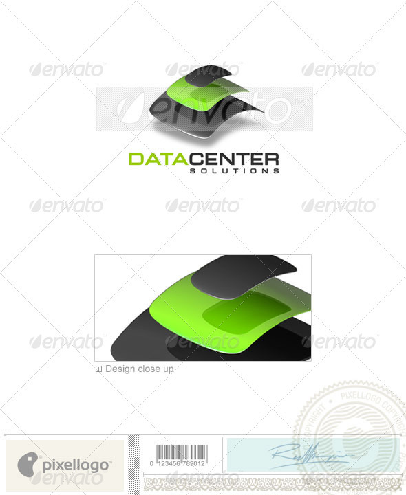Technology Logo 3D-128