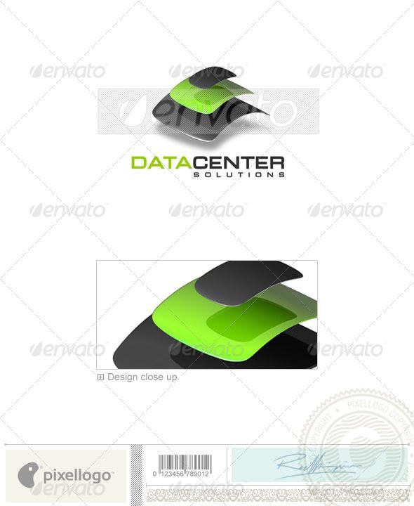 Technology Logo - 3D-128