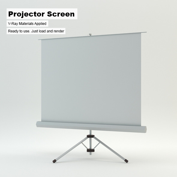 3DOcean Projector Screen 4765367