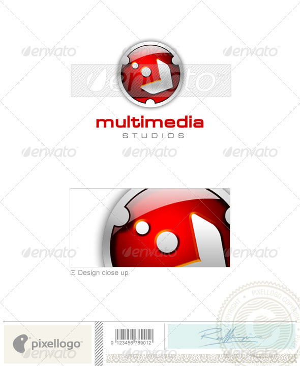 GraphicRiver Activities & Leisure Logo 3D-131 497447