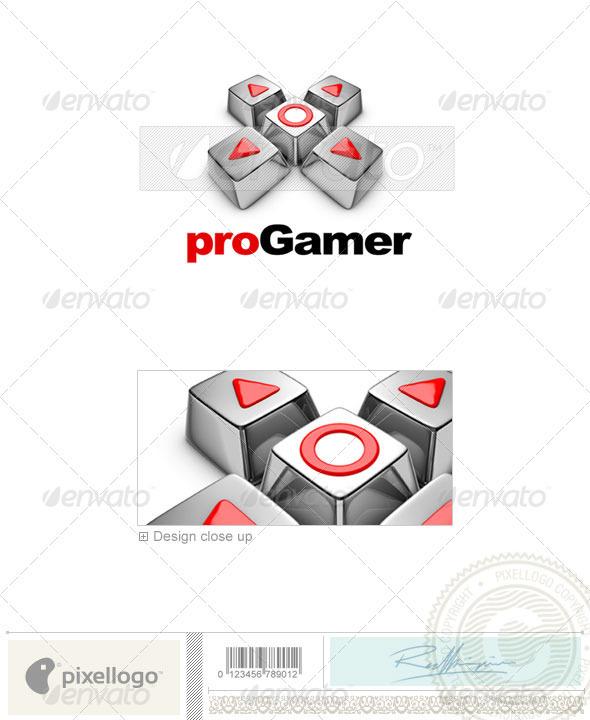 Technology Logo - 3D-445