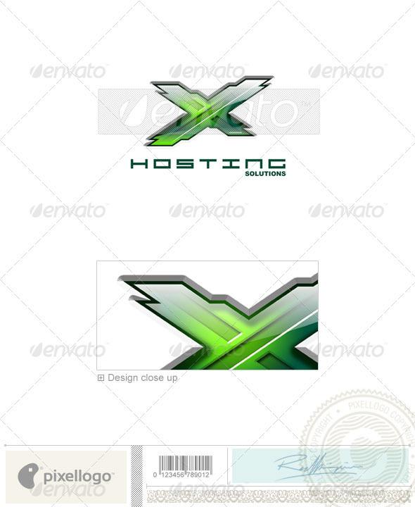 Technology Logo - 3D-122