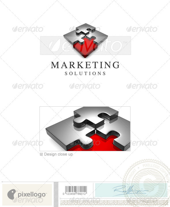 Business & Finance Logo - 3D-633 - 3d Abstract