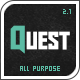 Quest - All Purpose Wordpress Theme - ThemeForest Item for Sale