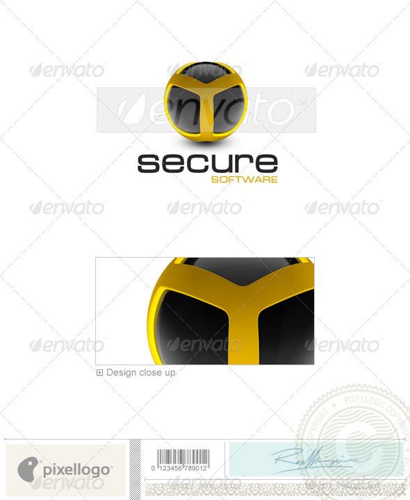 Technology Logo - 3D-284