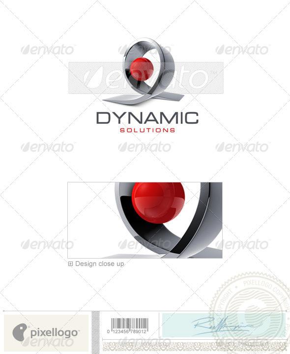 Technology Logo - 3D-464