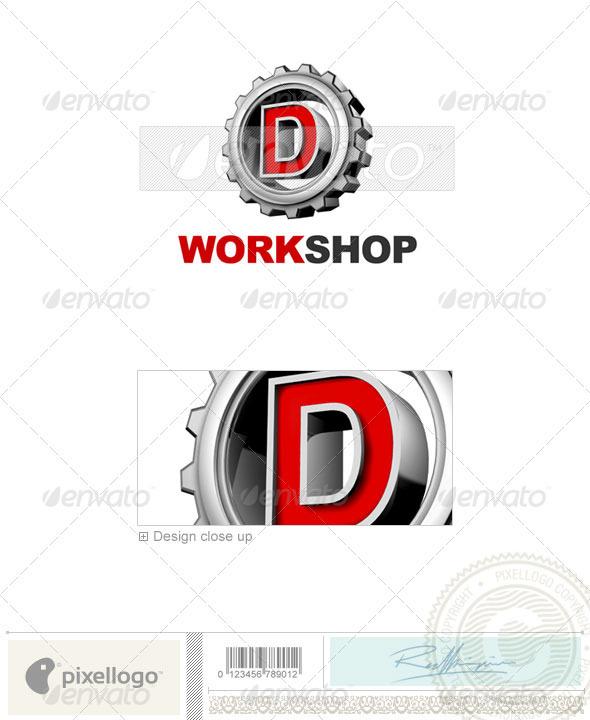 D Logo 3D-292-D