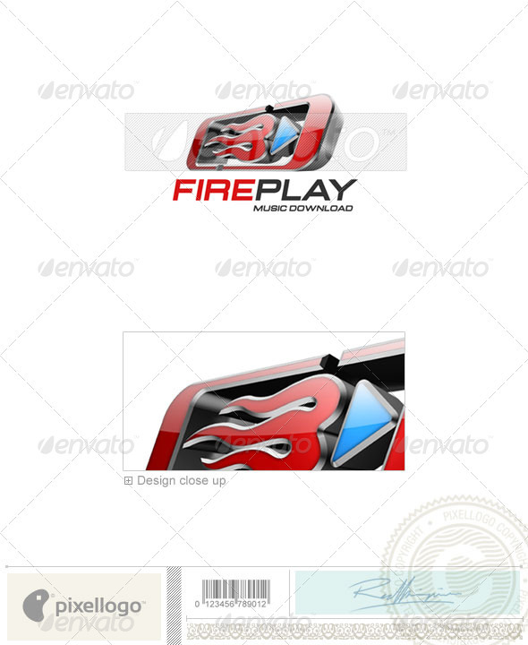 Graphic River Industry & Science Logo 3D-220 Logo Templates -  Abstract  3d 497533