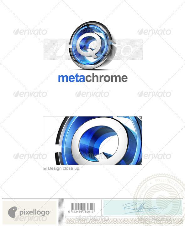 Logo - 3D-476-Q ...Q Logo 3d