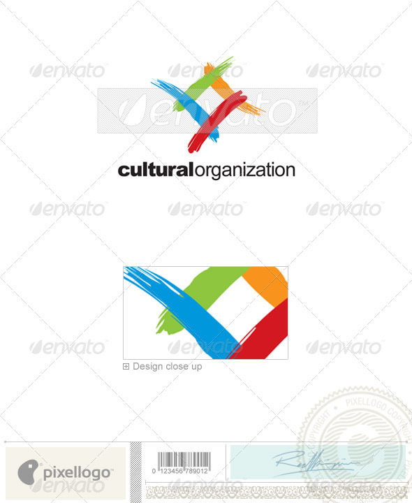 Print & Design Logo - 223 - Vector Abstract