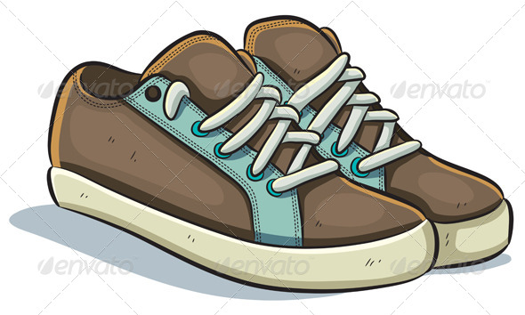 GraphicRiver Casual Sneakers 4765940