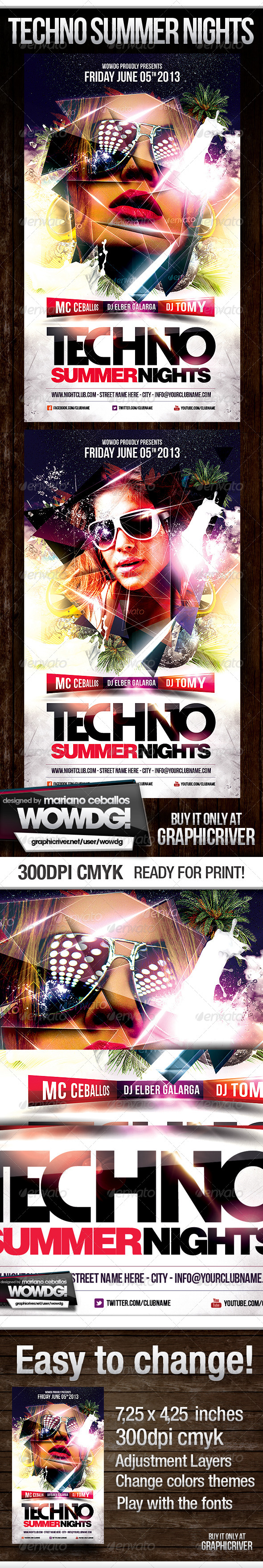 Techno Summer Party - Clubs & Parties Events