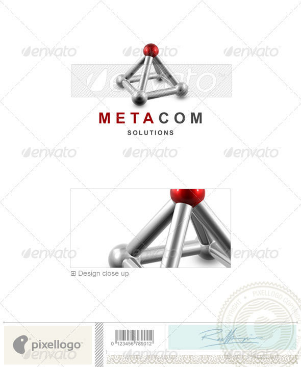 Industry & Science Logo - 3D-246 - 3d Abstract