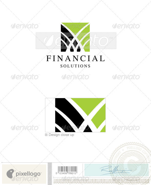 Business & Finance Logo - 542 - Vector Abstract