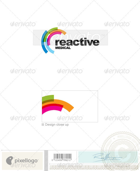 Industry & Science Logo - 2190 - Vector Abstract