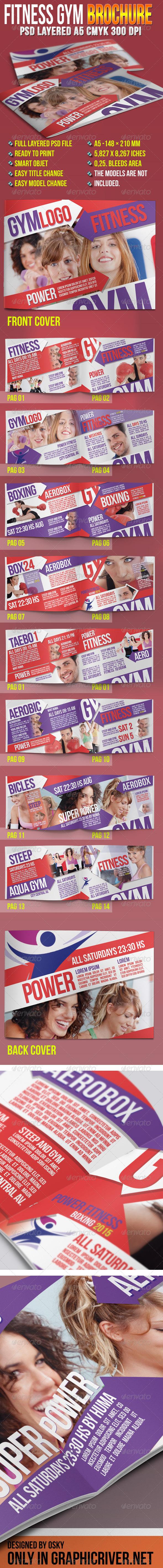 GraphicRiver Fitness Gym Brochure 4766185