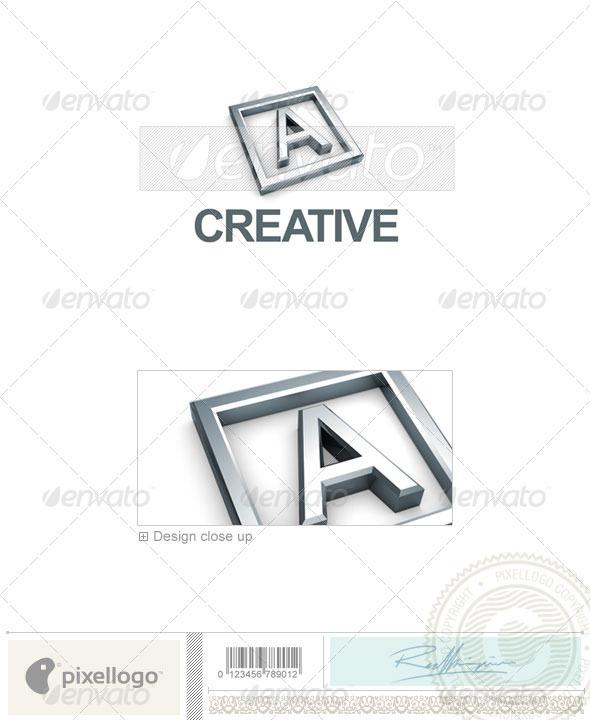 A Logo 3D-295-A