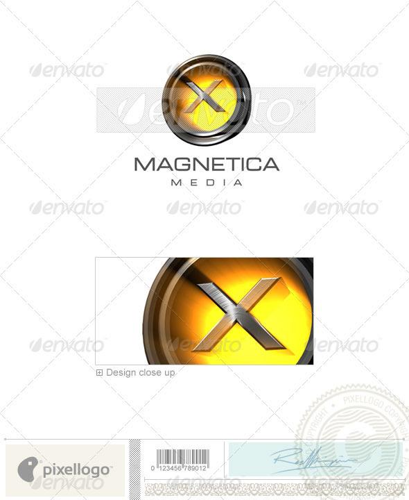 X Logo 3D-238-X