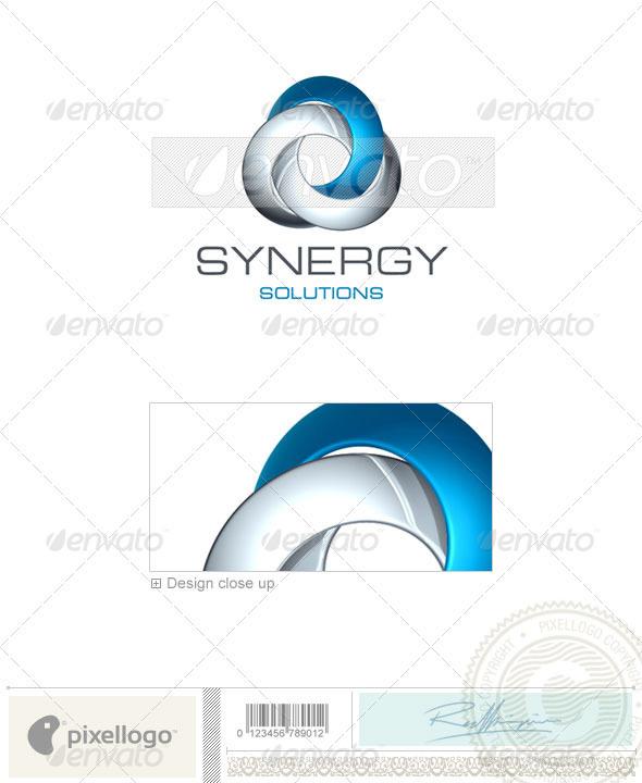 Technology Logo - 3D-396