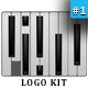 Piano Logo - GraphicRiver Item for Sale