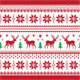 Christmas and Winter knitted seamless pattern - GraphicRiver Item for Sale