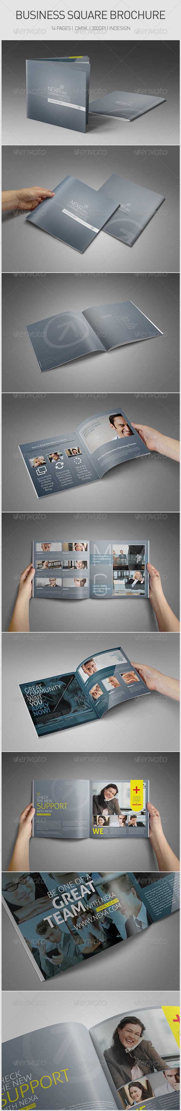 Business Square Brochure - Corporate Brochures