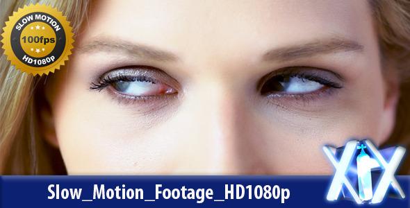 Female Eyes Close-Up