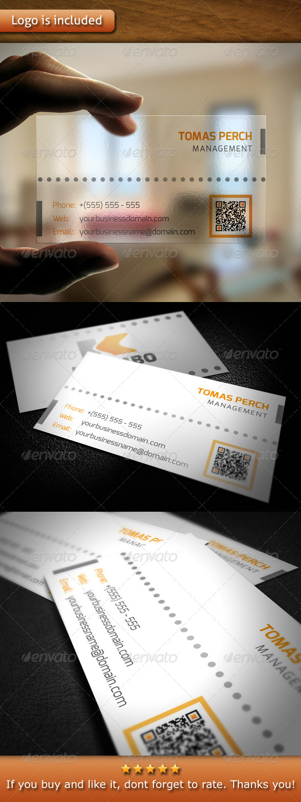 GraphicRiver Corporate Logo Business Card 4767132