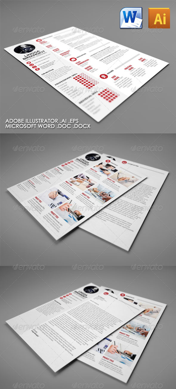 GraphicRiver Ayu Curriculum Vitae 4767198